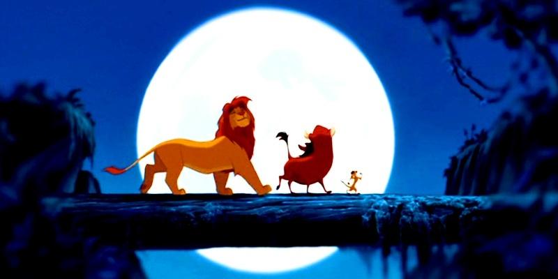 Simba, Pumbaa & Timon