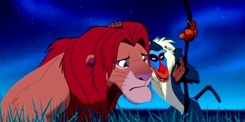 The Lion King wallpaper with anime called Simba & Rafiki