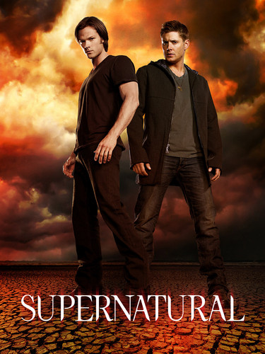 Winchester's Journal Hintergrund with a business suit, a concert, and a sunset called Supernatural Season 7 Promotional Poster!