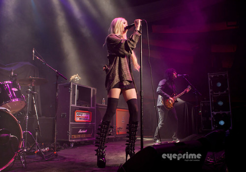 Taylor Momsen performs at the Hollywood Palladium in Hollywood, Oct 11