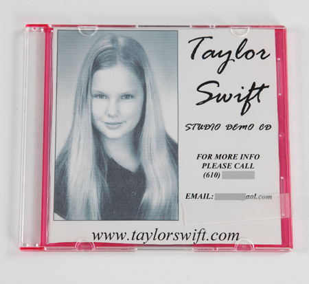 Taylors Demo Cd - taylor-swift Photo