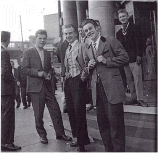 Teddy Boys From The 50's