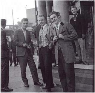 Teddy Boys From The 50's