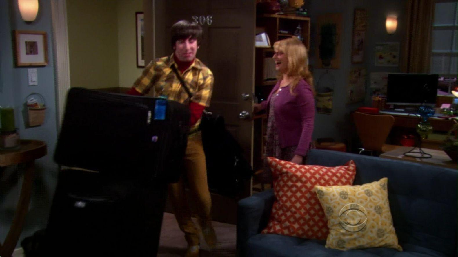 The Big Bang Theory - The Cohabitation Formulation clip1