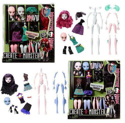 The Create Your Own Monster Dolls