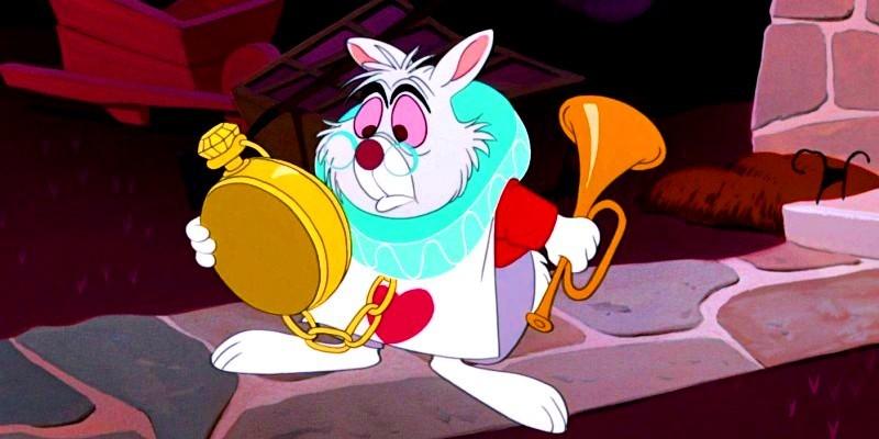 The White Rabbit - Alice in Wonderland Fan Art (25961700 ...