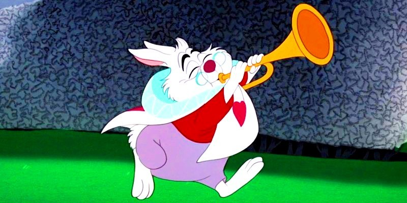The White Rabbit - Alice in Wonderland Fan Art (25961706 ...