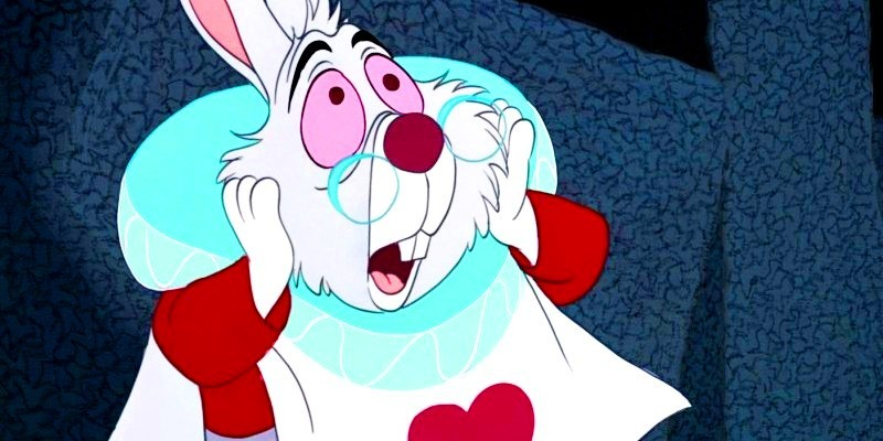 Alice in Wonderland images The White Rabbit wallpaper and ...