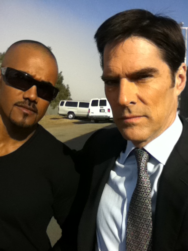 Thomas and Shemar