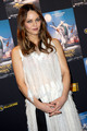 Vanessa Paradis attends a preview of the film