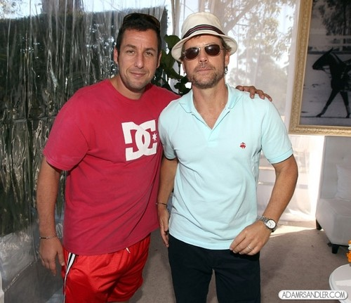 Adam Sandler wallpaper called Veuve Clicquot Polo Classic Los Angeles - Inside (October 9)