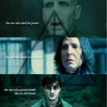Voldemort, Snape, Harry, & the Deathly Hallows