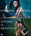 Rebecca Marino in Strong Is Beautiful - wta fan art