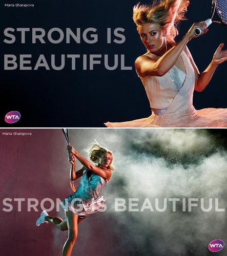 Maria Sharapova in Strong Is Beautiful