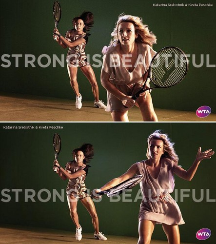 Katarina Srebotnik & Květa Peschke in Strong Is Beautiful