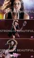 Andrea Petkovic in Strong Is Beautiful - wta fan art