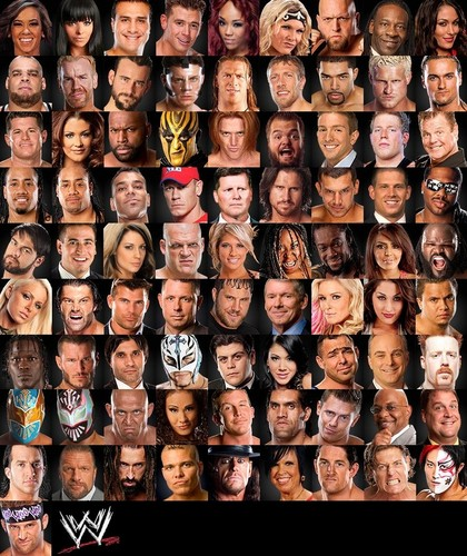 WWE wallpaper entitled WWE Roster