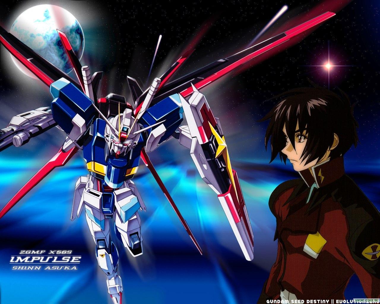 Gundam Seed Wallpaper For Iphone