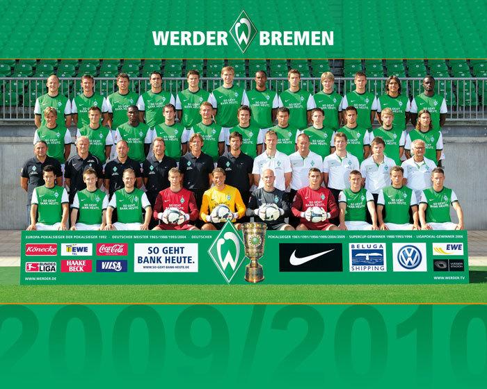 SV Werder Bremen Si Hijau Yang Memukau