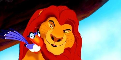 Zazu & Mufasa