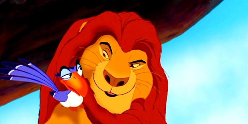 Re Leone Zazu: Young Sarabi And Romantic Mufasa XD Il Re Leone The Lion King