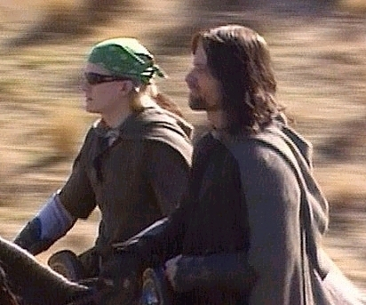 aragorn and legolas are so gooood together!