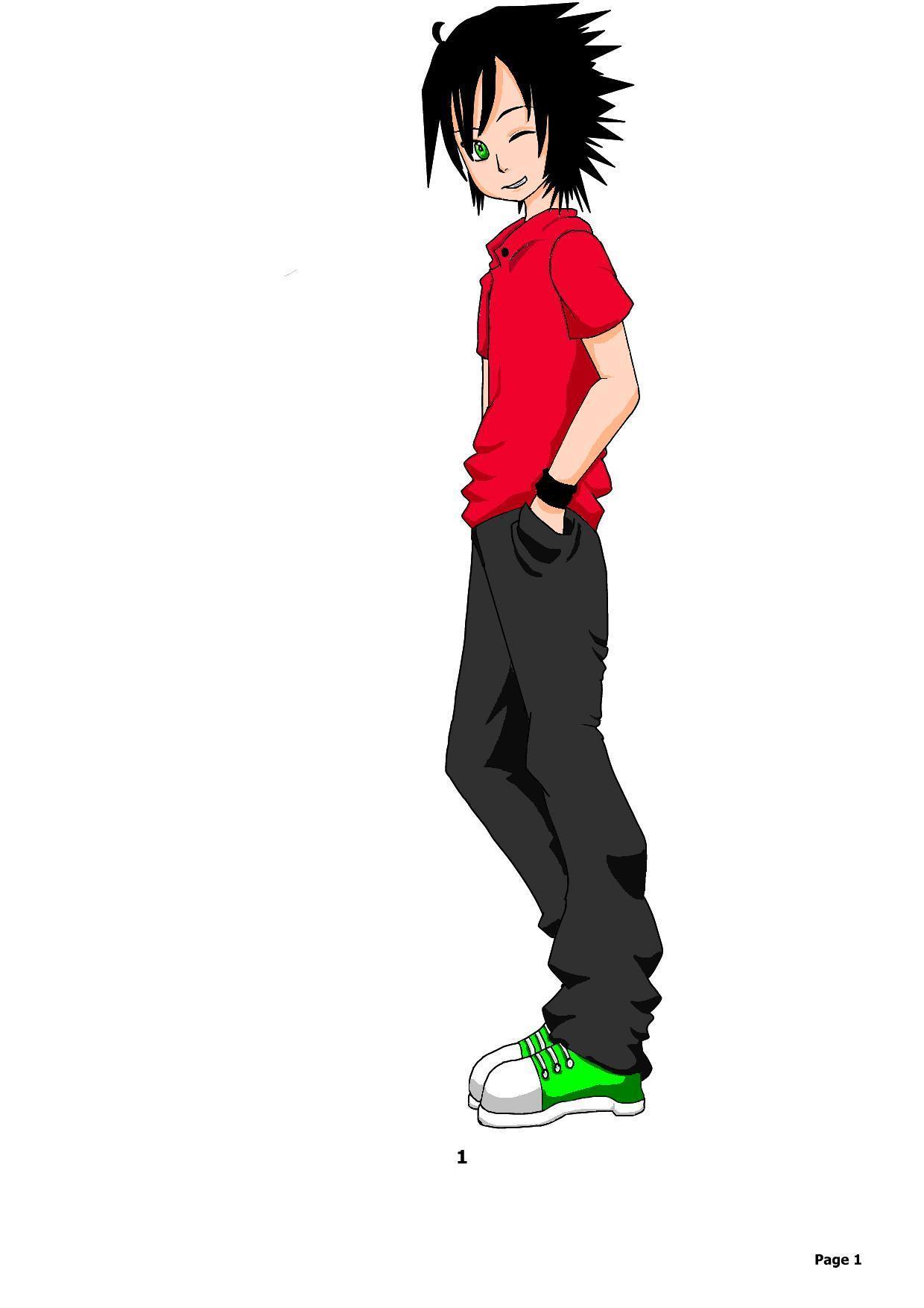cool boy - Anime Fan Art (25900670) - Fanpop