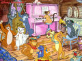 every budy wonts to be a cat - classic-disney wallpaper