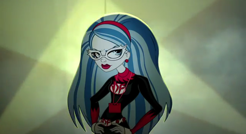 ghoulia yelps as dead-fast