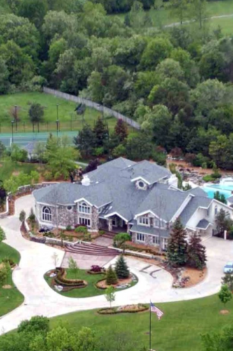 Eminem wallpaper with a resort entitled his house in michigan