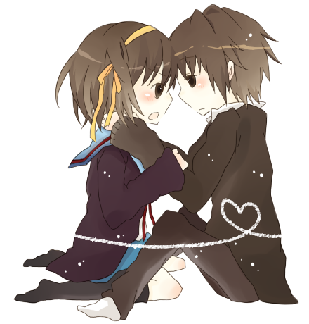 haruhi and kyon relationship quiz