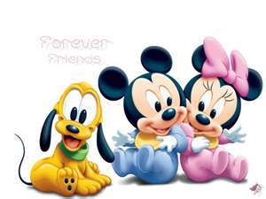 mickey, minnie,pluto