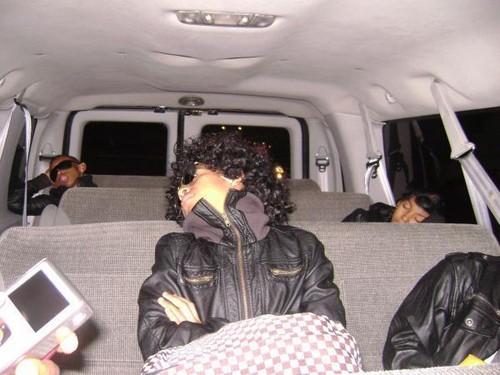 mindless behavior sleeping