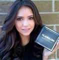 ninadobrev: Love @GlamGlowMud ! It's magical ;) - nina-dobrev photo