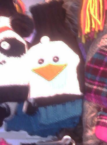 penguin, auk hat