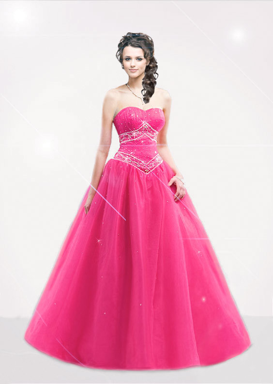 Pink prom dress dresses photo 25958807 fanpop for Pink homecoming dresses