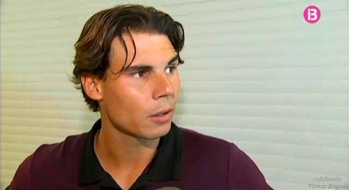 rafa new short hair