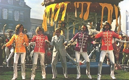 The Bee Gees, George Burns, sergeant Peppers