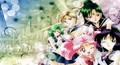 sailor pluto with the other outer senshi.