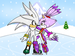 silver and blaze - blaze-the-cat icon