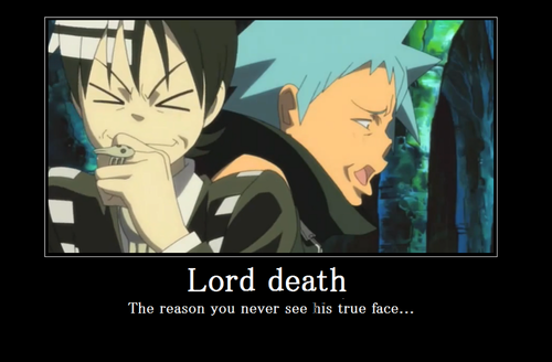Demotivational Posters wallpaper containing anime called soul eater