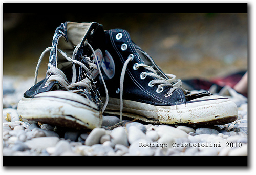 worn out Chucks