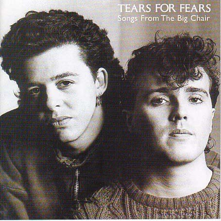 The 80s wallpaper with a portrait entitled  80's美 tears for Fears