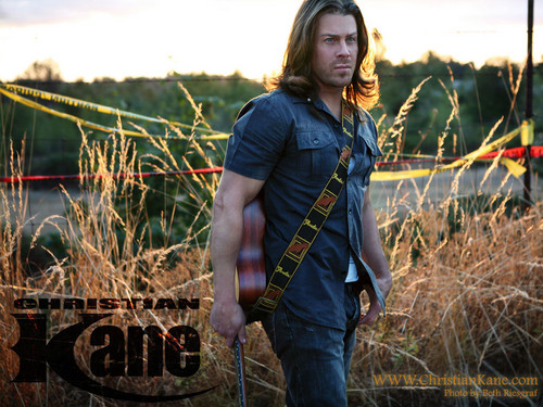 Christian Kane wallpaper with a grainfield titled ▲CK▲