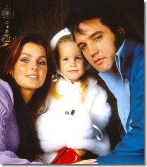 ☆ Elvis, Priscilla & Lisa Marie