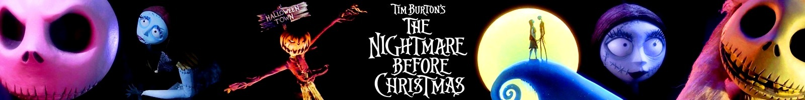 'Nightmare Before Christmas' Banner - Nightmare Before ...