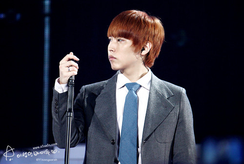 Sungmin Super Junior KRY concerto in Nanjing