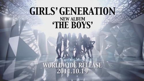 """Girls' Generation """"The Boys"""" MV Teaser"""