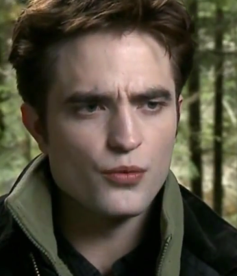 footage of Robert Pattinson from Entertainment Tonight Breaking Dawn Special