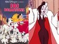 101 Dalmatians with Cruella De Vil